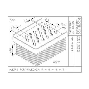 BLOCO MF 265 / 270 / 275 / 285 / 290 - VISCONDE/MODINE