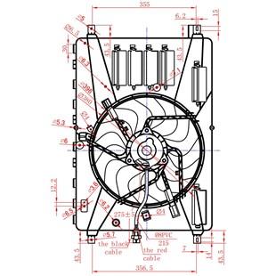 GMV VENTOINHA DEFLETOR LAND ROVER FREELANDER II 3.2 V6/  VOLVO XC70/  V70/  S80 2006 > XC60 2008 > S60/  V60 2010 > - PROCOOLER