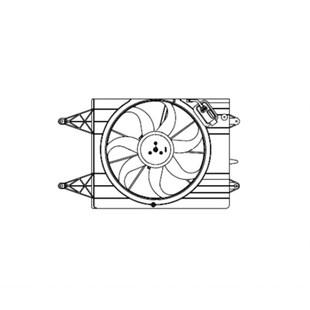 GMV VENTOINHA DEFLETOR VW VOLKSWAGEN GOL / POLO / SAVEIRO / VOYAGE 1.0/1.6 / 2008 A 2013 FLEX COM AR AUTOM OU MANUAL - MAGNETI MARELLI