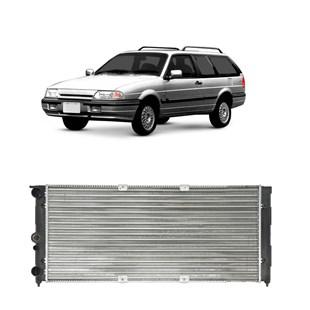 RADIADOR FORD ROYALE / VERSAILLES VW VOLKSWAGEN SANTANA / QUANTUM 1.8 / 2.0 1995 A 1996 MANUAL COM AR - VALEO