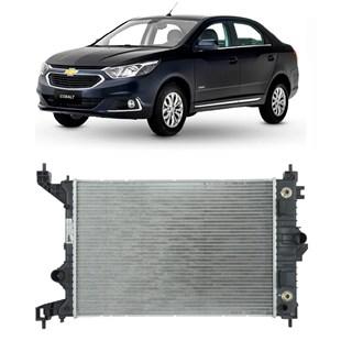 RADIADOR GM CHEVROLET COBALT / SPIN / ONIX / PRISMA 1.4 / 1.8 2013 EM DIANTE AUTOMATICO COM AR - VALEO