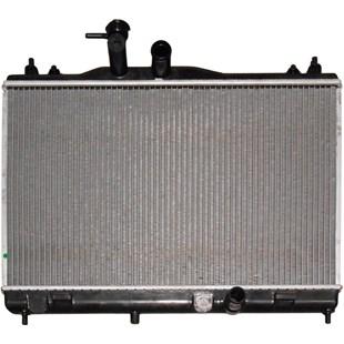 RADIADOR NISSAN LIVINA / GRAND LIVINA / LIVINA X-GEAR 1.6 16V COM AR 2009 EM DIANTE MANUAL - PROCOOLER