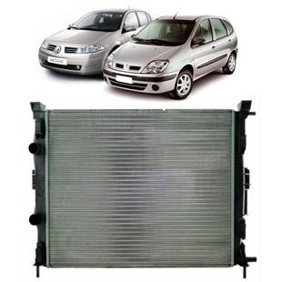 RADIADOR REUNAULT MEGANE / SCENIC 2.0 16V 1995 A 2005 AUTOMATICO COM OU SEM AR - VALEO