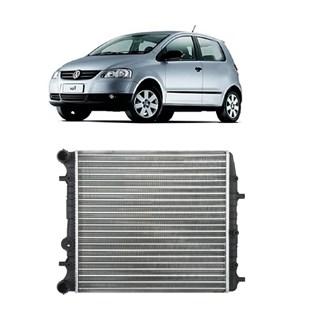 RADIADOR VW VOLKSWAGEN FOX 2002 A 2005 POLO 1.0 / 1.6 16V 2002 EM DIANTE SEM AR - VALEO