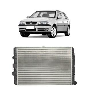 RADIADOR VW VOLKSWAGEN GOL BOLA / PARATI / SAVEIRO 1.6/1.8/2.0 8V/16V 1995 A 1996 FLEX 2003 EM DIANTE MANUAL SEM AR - VALEO