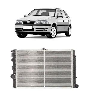 RADIADOR VW VOLKSWAGEN GOL BOLA / PARATI / SAVEIRO 1.6 / 1.8 / 2.0 COM AR 1996 EM DIANTE - VALEO